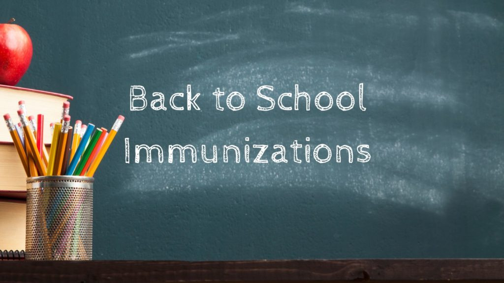 Clinic Now Scheduling Back to School Immunizations & Sports Physicals